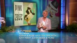 P!nk  -  The Ellen DeGeneres Show,  & 3 Olympians  - Sept 10, 2012 - 810p  mp4  caps