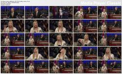 Kaley Cuoco @ Late Show w/David Letterman 2011-01-20