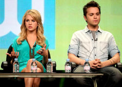 Бритт Робертсон, фото 137. Britt Robertson 2011 Summer TCA - The Secret Circle panel in Beverly Hills - August 4 2011, foto 137