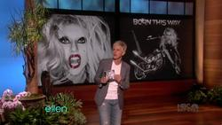 Lady Gaga - Judas - Ellen DeGeneres, April 28_2011 performance  810p  caps