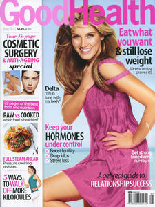 Delta Goodrem - Good Health Magazine - May 2011 (scans)