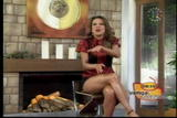 Ingrid Coronado - Major Thighshow. - 8/6/07 - VideoClip