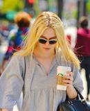 Dakota Fanning | Leaving a Starbucks in Studio City | June 20 | 10 pics